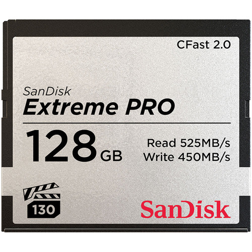 ARRI 128GB Extreme PRO CFast 2.0 Memory Card (3-Pack)
