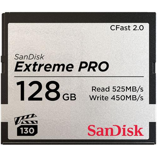 ARRI Sandisk CFAST2.0 Card Set 3X 128GB