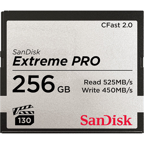 ARRI 256GB Extreme PRO CFast 2.0 Memory Card (3-Pack)