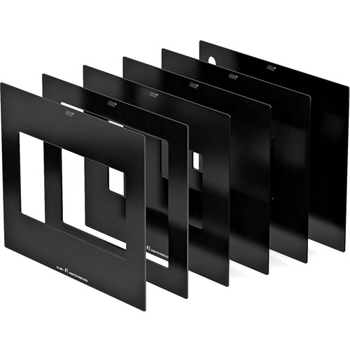 ARRI SMB-1 Matte Set with 2:1 Ratio Opening & Plain Protective Cover (Set of 5)