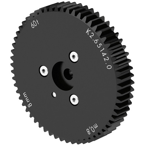 Arri CLM-3 m0.8/32 Pitch & 60 Teeth 25mm Wide Gear for Moving Lens Barrels