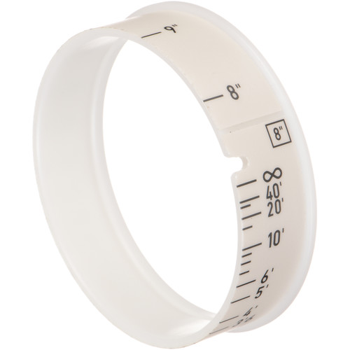 """ARRI Pre-Marked Focus Ring for WCU-4 or UMC-4 (8"""" Close-Focus Mark)"""