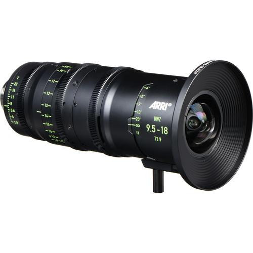 ARRI 9.5-18mm T2.9 F Ultra Wide Zoom Lens (PL, Feet)