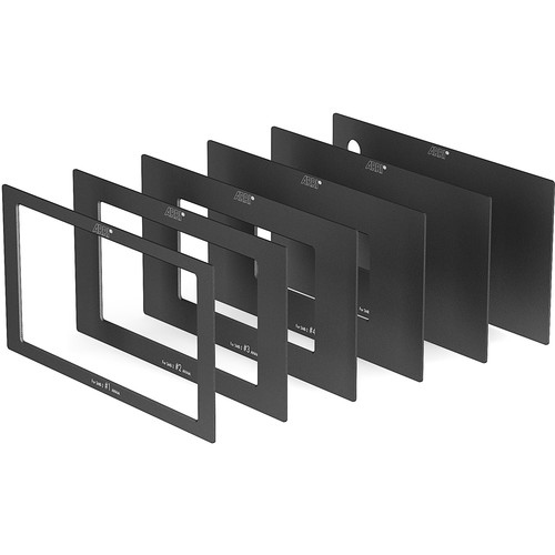 ARRI SMB-2 Anamorphic Matte Set with 2:1 Ratio Opening & Plain Protective Cover (Set of 5)
