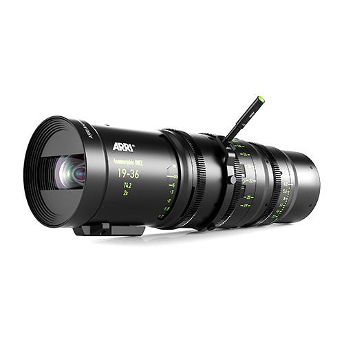 ARRI Anamorphic 19-36mm T4.2 Ultra-Wide Zoom Lens (PL Mount, Feet)