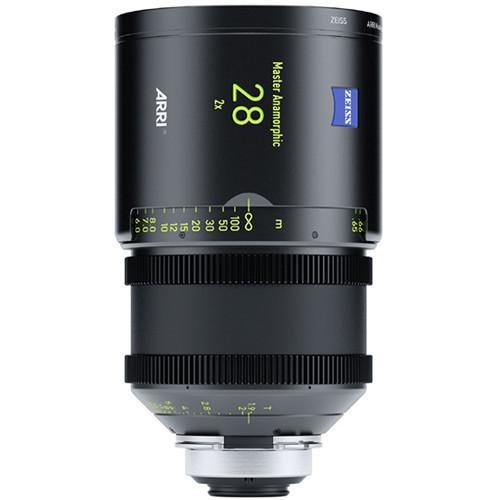 ARRI 28mm T1.9 Master Anamorphic Lens (PL, Feet)