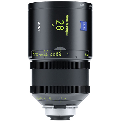 ARRI Master Anamorphic 28mm T1.9 M Lens