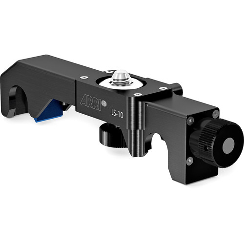 Arri LS-10 Lens Support with Dual 15mm Rod Clamp for Studio Bridge Plate