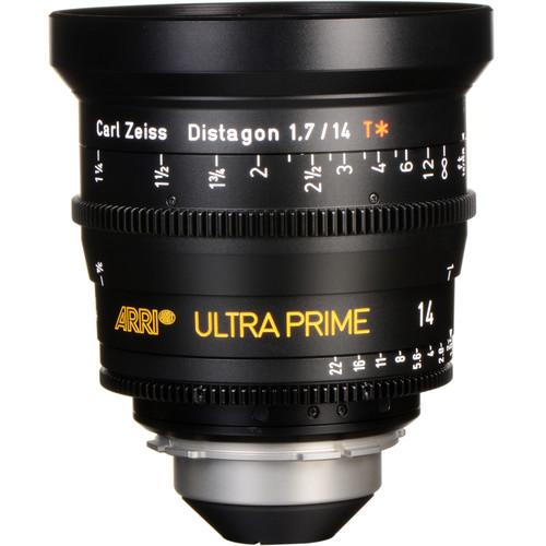 ARRI Ultra Prime 14mm T1.9 Lens (PL, Feet)