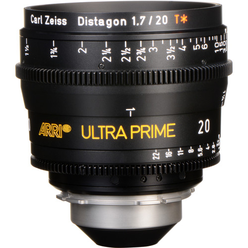 ARRI Ultra Prime 20mm T1.9 Lens (PL, Feet)