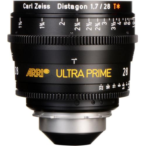 ARRI Ultra Prime 28mm T1.9 Lens (PL, Feet)
