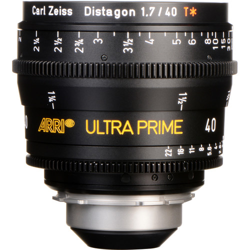 ARRI Ultra Prime 40mm T1.9 Lens (PL, Feet)