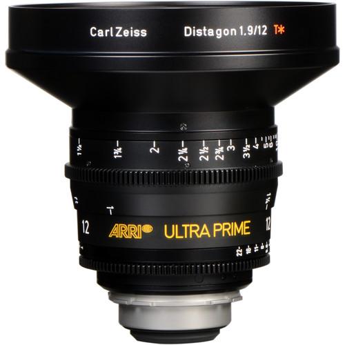 ARRI Ultra Prime 12mm T2.0 F Lens (PL, Feet)
