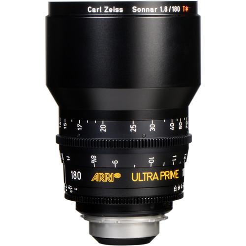 ARRI Ultra Prime 180mm T1.9 Lens (PL, Feet)