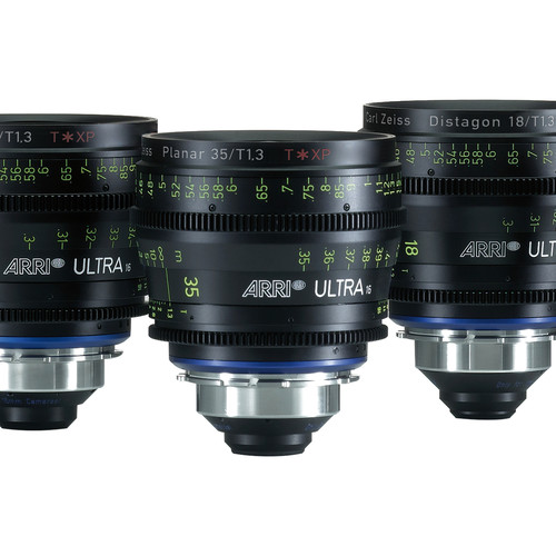 ARRI Ultra16 18mm T1.3 Prime Lens (PL Mount, Meters)