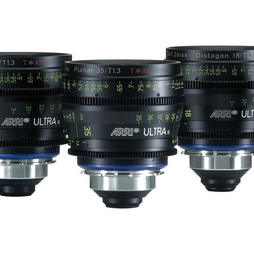 ARRI Ultra16 18mm T1.3 Prime Lens (PL Mount, Feet)