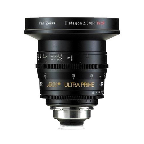 ARRI Ultra Prime 8mm Rectilinear T2.8/8R F Lens (PL, Feet)