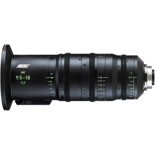 ARRI 9.5-18mm T2.9 M Ultra-Wide Zoom Lens