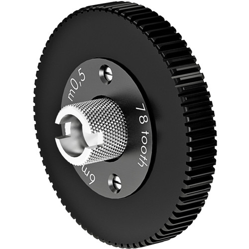 ARRI Follow Focus 0.5 Metric Module Gear for Canon & Angenieux ENG Lenses (78 Teeth, 6mm Face)