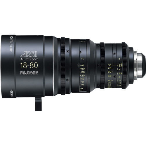 ARRI Alura 18-80mm T2.6 F Wide-Angle Studio Zoom with PL Mount