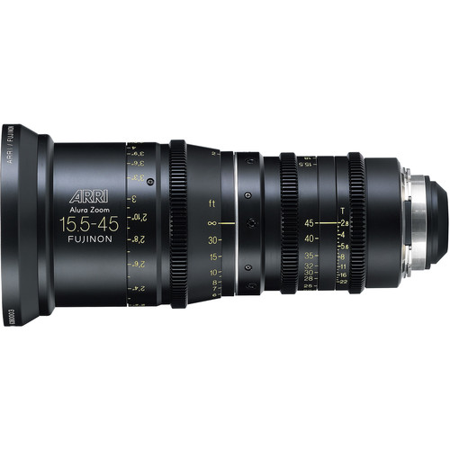 ARRI Alura 15.5-45mm T2.8 F Wide-Angle Zoom with LDS PL Mount