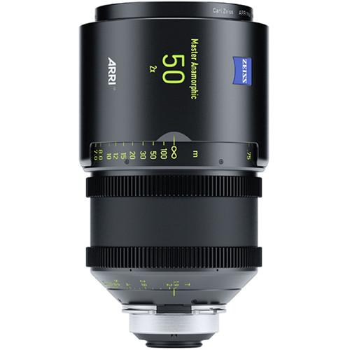 ARRI 50mm T1.9 Master Anamorphic Lens (PL, Feet)