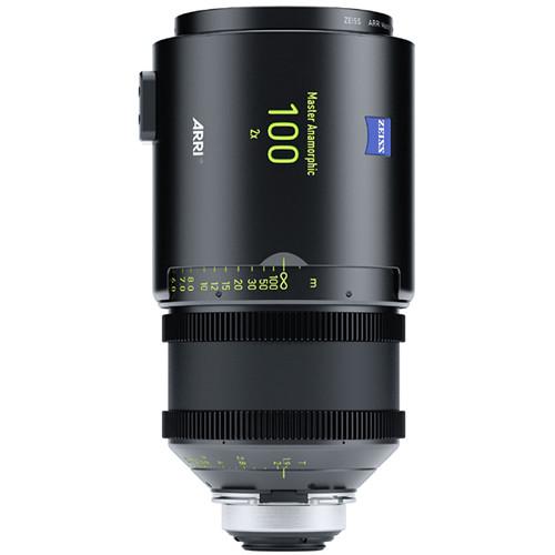 ARRI 100mm T1.9 Master Anamorphic Lens (PL, Feet)