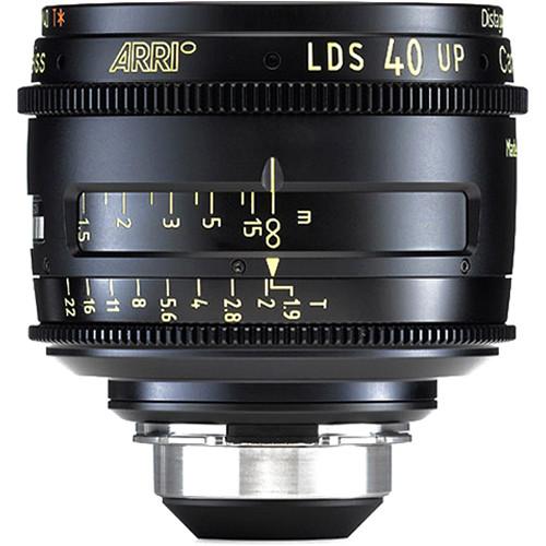 ARRI LDS Ultra Prime 40mm T1.9 Prime Lens (PL-LDS Mount, Feet)