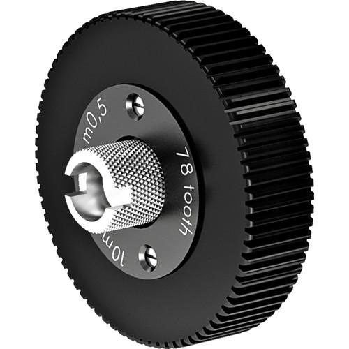 ARRI Follow Focus 0.5 Metric Module Gear for Canon & Angenieux ENG Lenses (78 Teeth, 10mm Face)