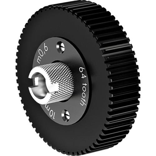 ARRI Follow Focus 0.6 Metric Module Gear for Fujinon ENG Lenses (64 Teeth, 10mm Face)