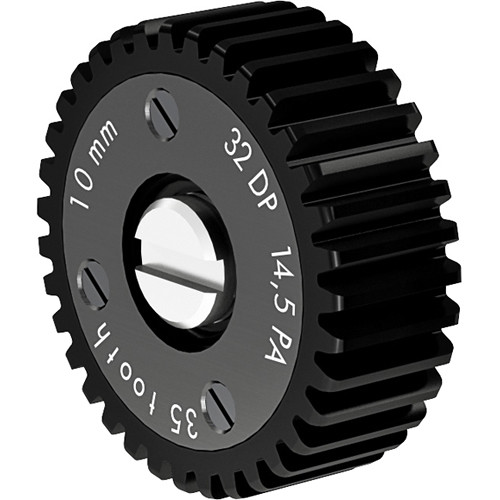 ARRI Follow Focus Module Gear for Panavision Lenses (35 Teeth, 0.8/32 Pitch, 10mm Face)