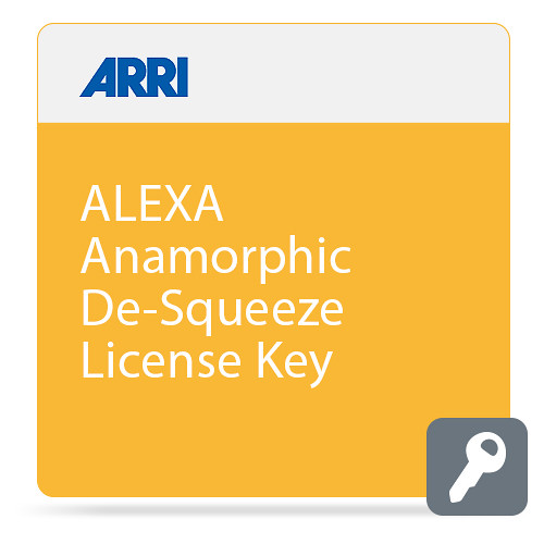 ARRI ALEXA Anamorphic De-Squeeze License Key