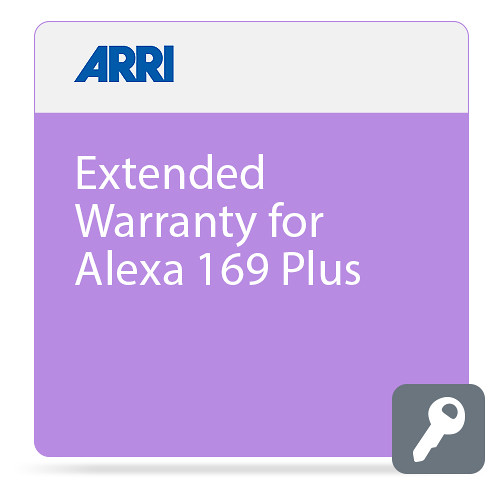 ARRI Extended Warranty for ALEXA 16:9 Plus