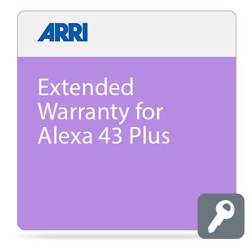 ARRI Extended Warranty for ALEXA 4:3 Plus