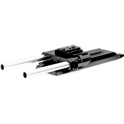 ARRI BP-12 Bridge Plate Set with Dovetail and 19mm Rods