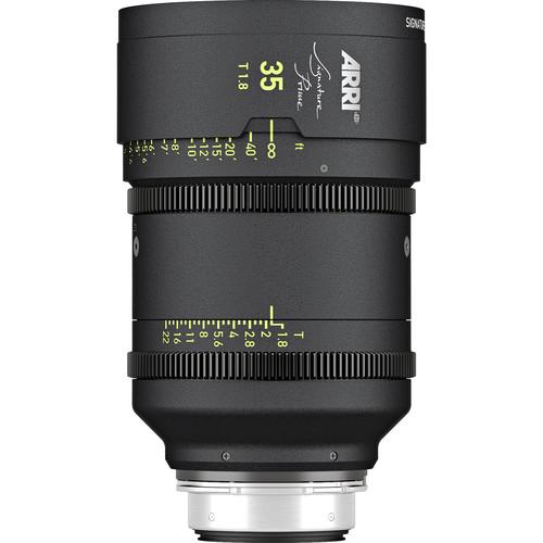 ARRI Signature Prime 35mm T1.8 Lens (Feet)