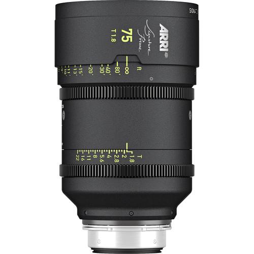 ARRI Signature Prime 75mm T1.8 Lens (Feet)