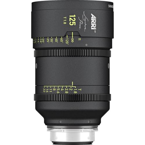 ARRI Signature Prime 125mm T1.8 Lens (Feet)