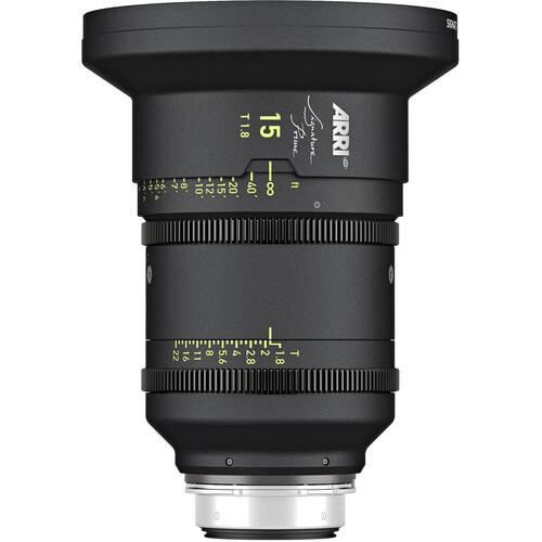 ARRI Signature Prime 15mm T1.8 Lens (Feet)