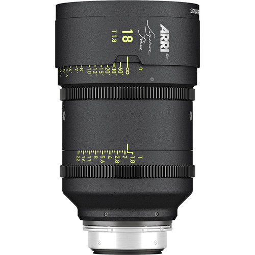 ARRI Signature Prime 18mm T1.8 Lens (Feet)
