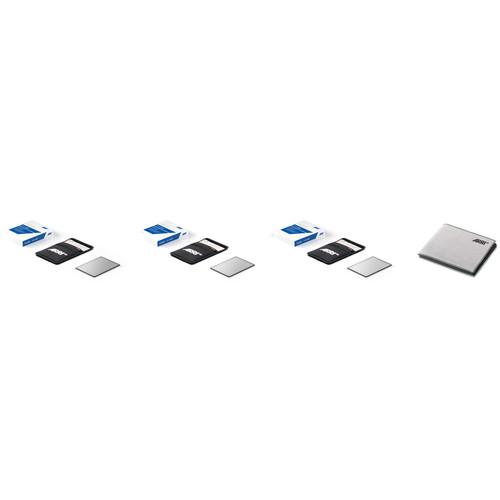 """ARRI 4 x 5.65"""" Full Spectrum Neutral Density Filter Basic Set"""