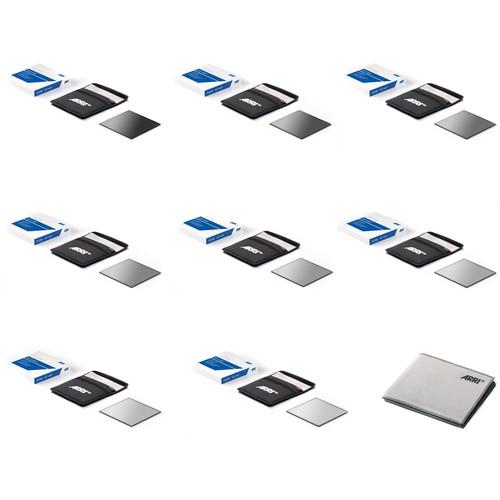 """ARRI 6.6 x 6.6"""" Full Spectrum Neutral Density Filter Pro Set"""