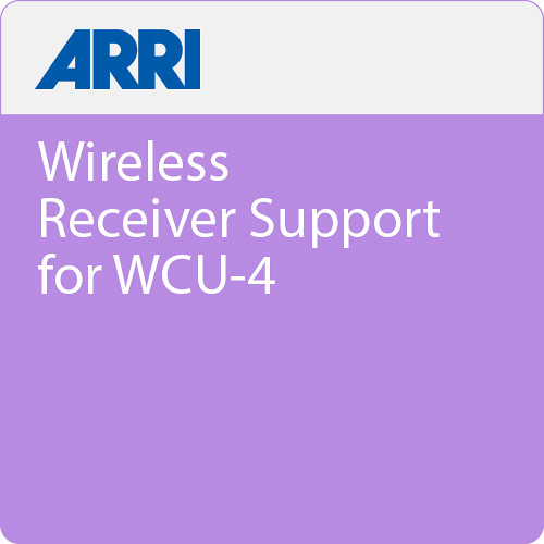 ARRI Wireless Receiver Support for WCU-4