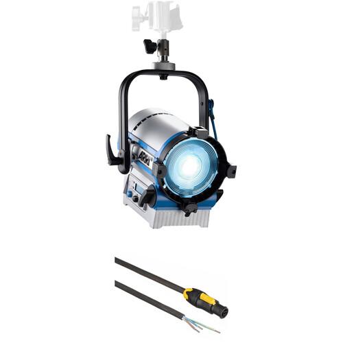 ARRI L5-C LED Fresnel Kit with Manual Yoke (Silver/Blue)