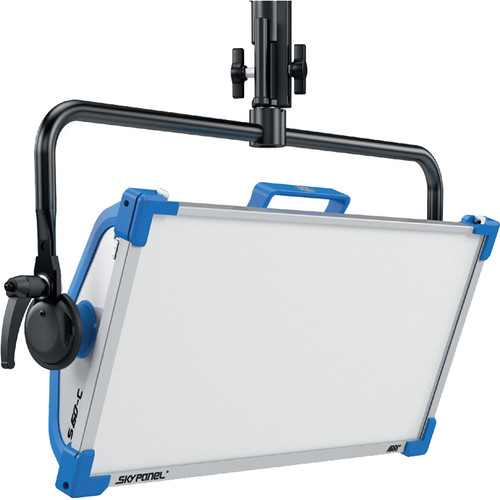 Arri SkyPanel S60-C LED Softlight (Blue/Silver, Bare Ends)