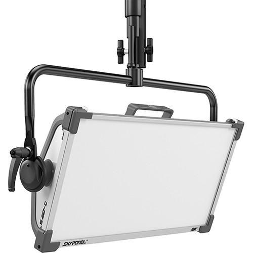ARRI SkyPanel S60-C LED Softlight with Manual Yoke (Black, Edison)