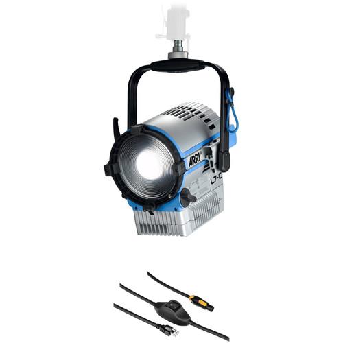 ARRI L7-C LED Fresnel Kit (Silver/Blue, Manual Mount)