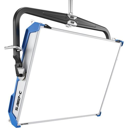 ARRI SkyPanel S360-C LED Softlight (Blue/Silver, Manual, Standard Diffusion, Bare Ends)