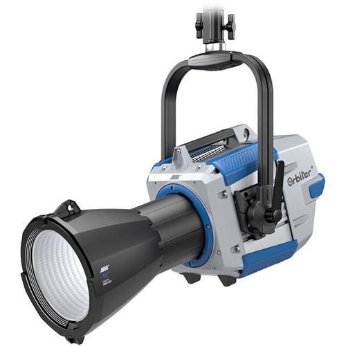 ARRI Orbiter LED Light with Open Face Optics (Blue/Silver, Edison, Manual)
