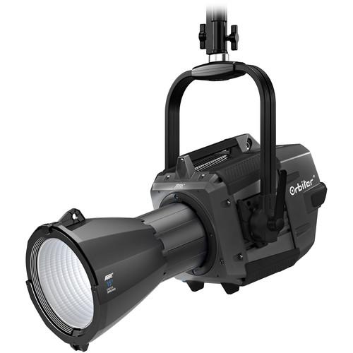 ARRI Orbiter LED Light with Open Face Optics (Black, Edison, Manual)
